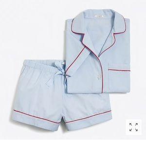 "J. Crew ""Hydrangea"" pajama set"